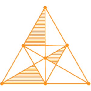 Orange DataCorps triangle centred